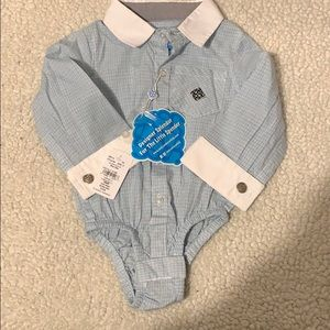 Andy & Evan Buttoned Dress Shirt- NEW WITH TAGS